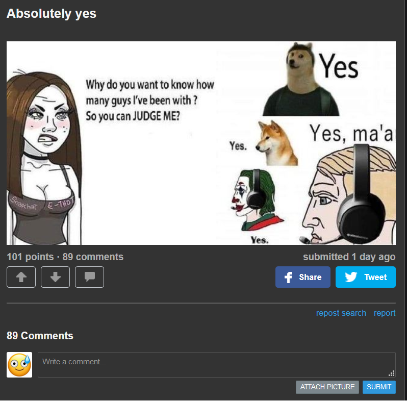 hehe 89 comments