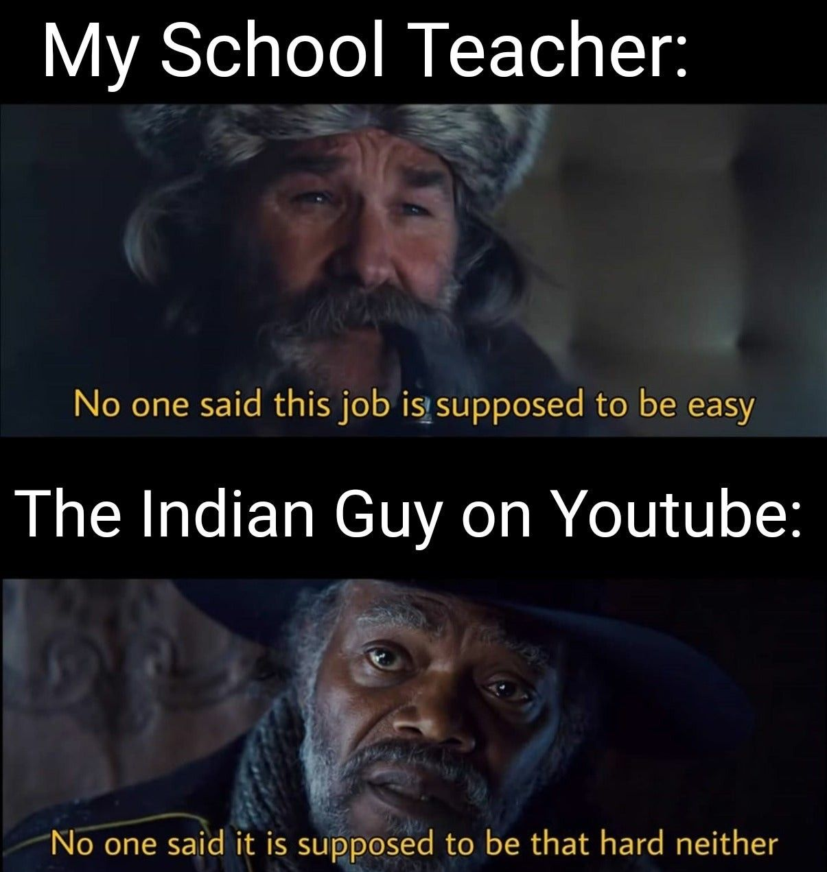 Thank you Indian guy
