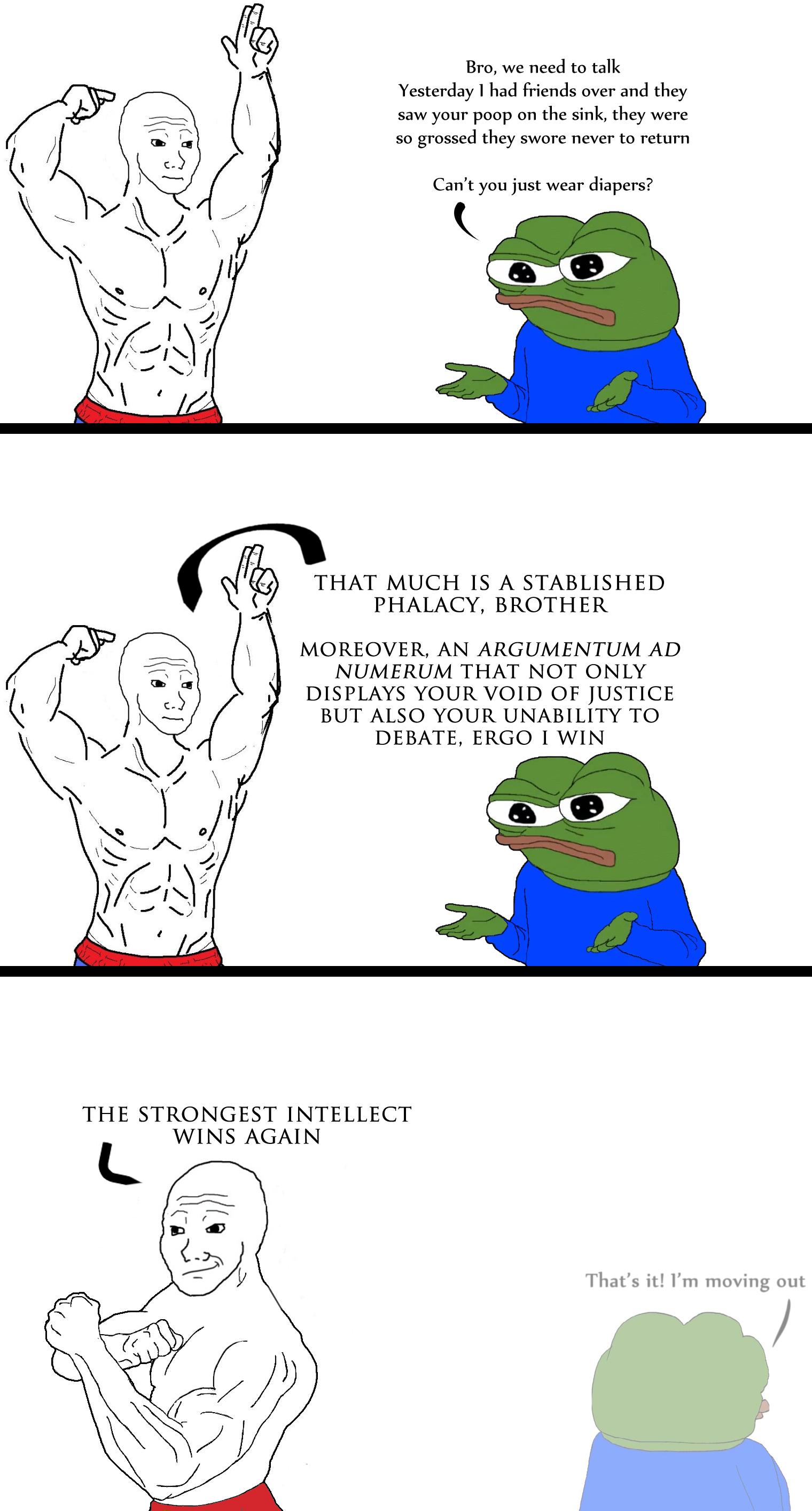 I love debates where nothing is debated except semantics