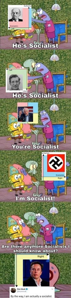 the political squidward