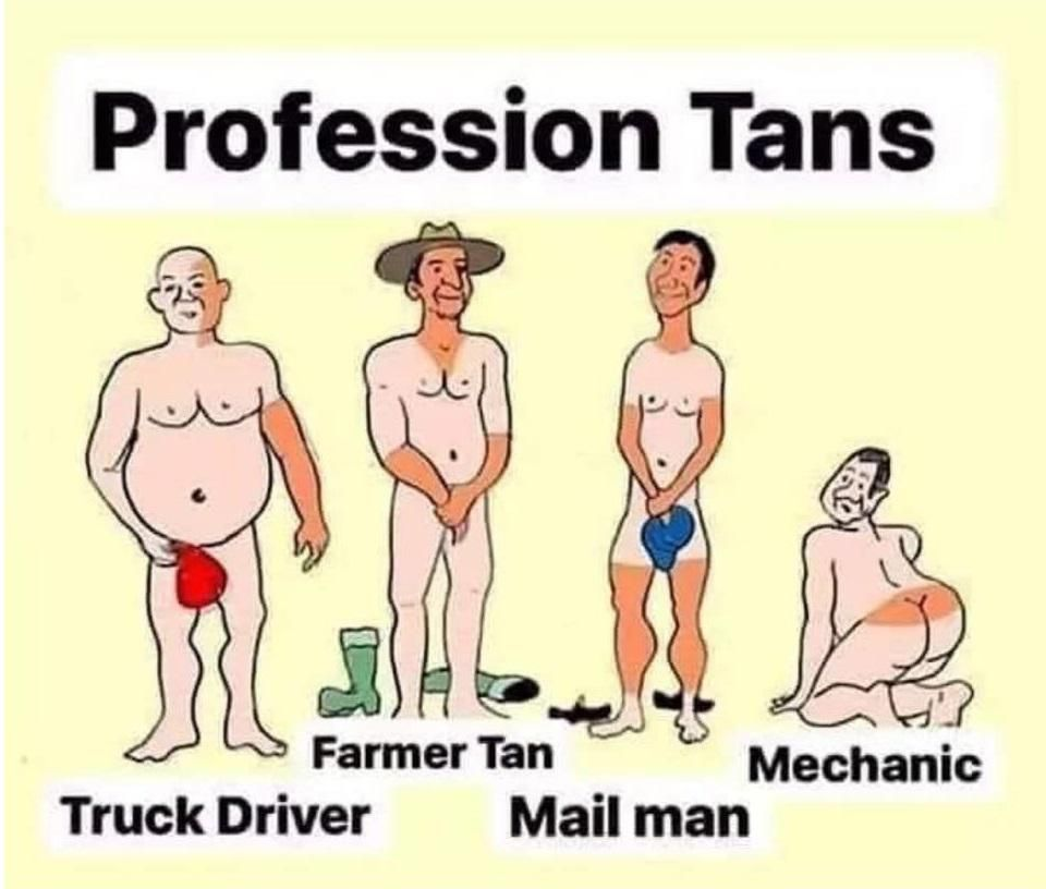 Profession Tans: Who can relate?
