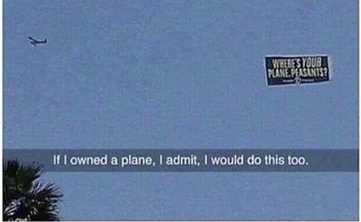 I'd do it too