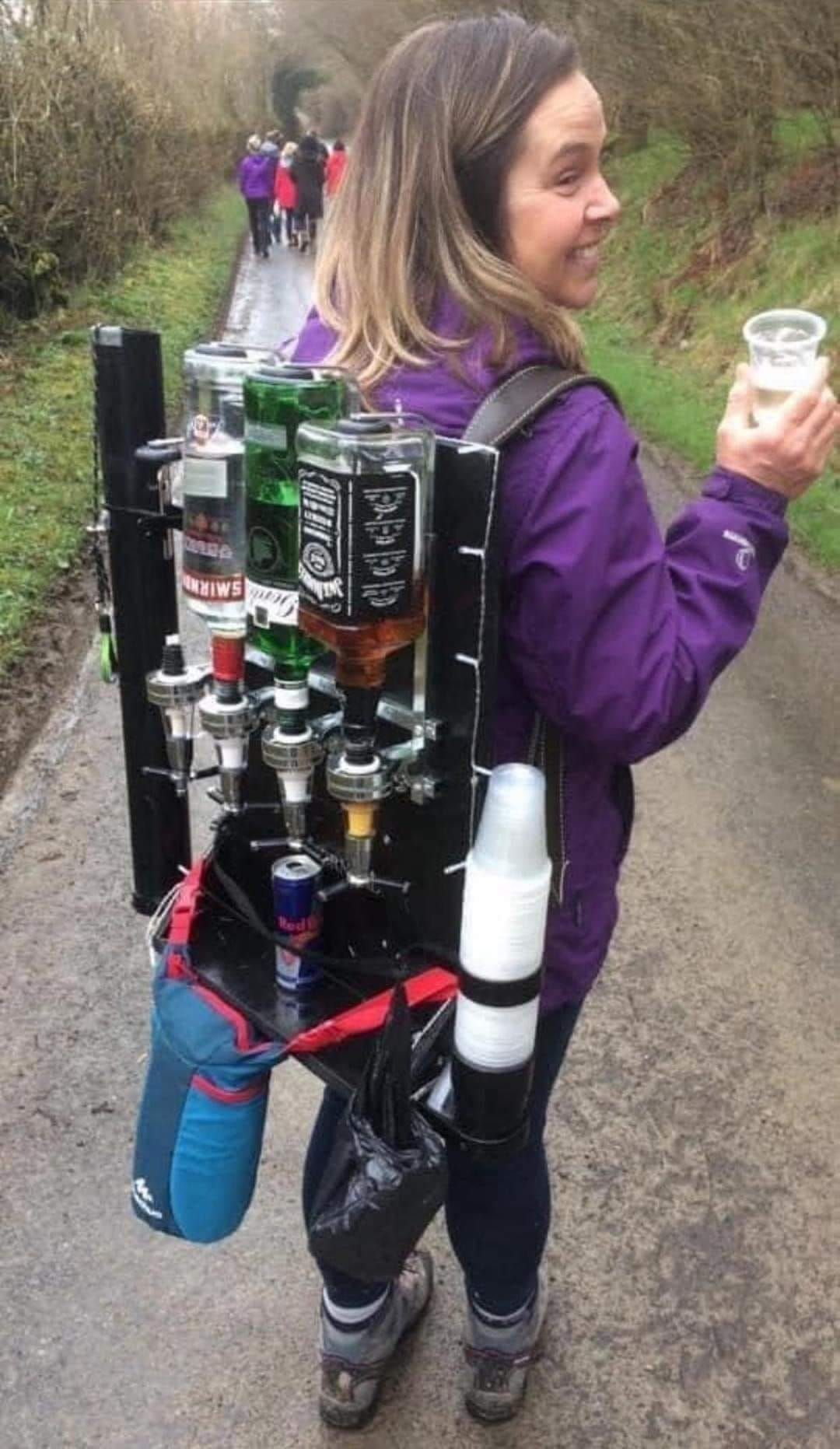 For quick drinks on the go