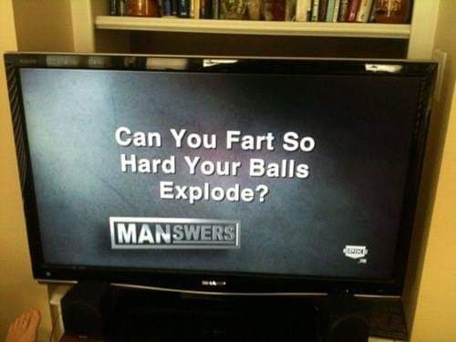 SpikeTV always asked the important questions.