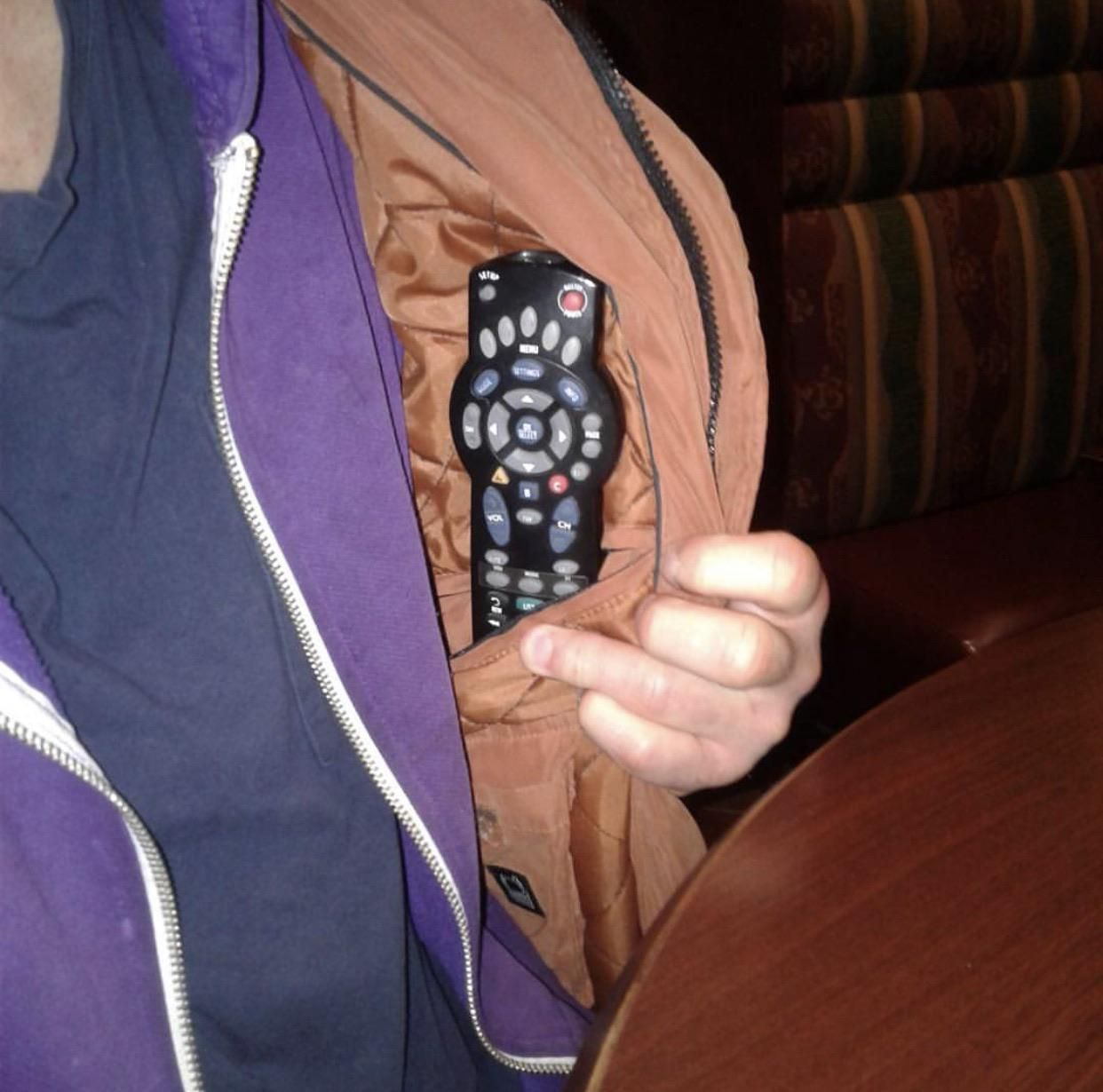 My dad apparently sneaks his remote into a local bar so he can change the channel when he doesn't like what's on. I'm equally embarrassed and impressed.
