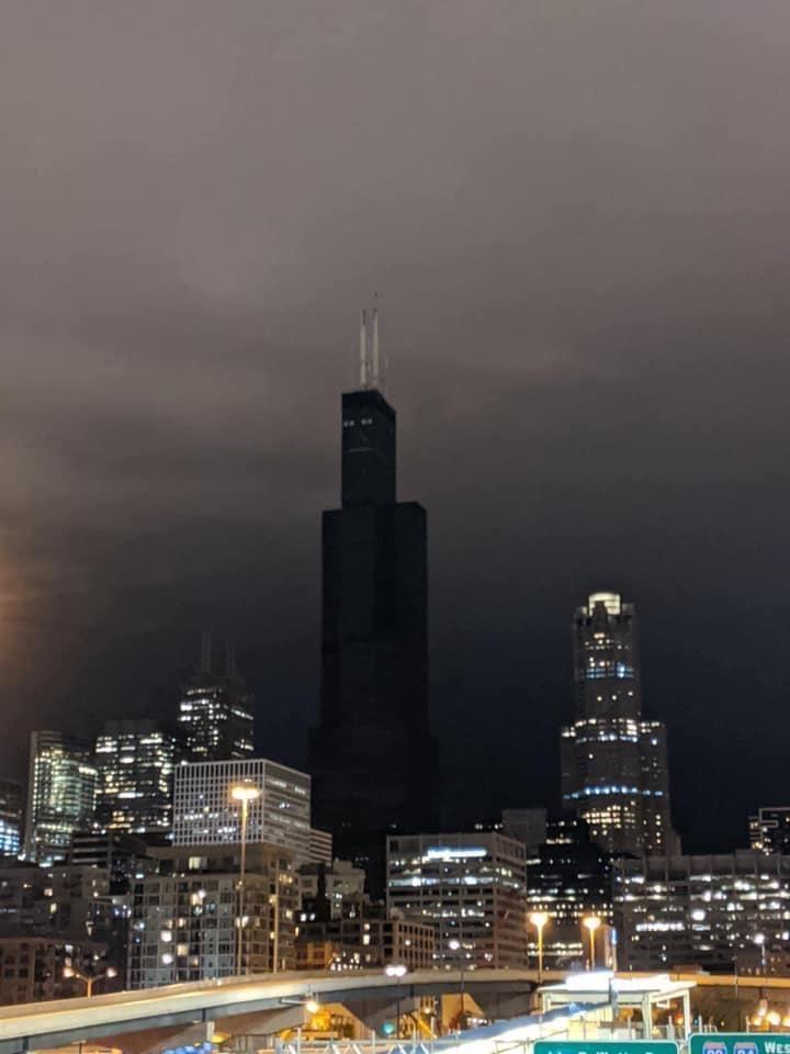 Chicago's sleep paralysis demon watching it sleep at night.