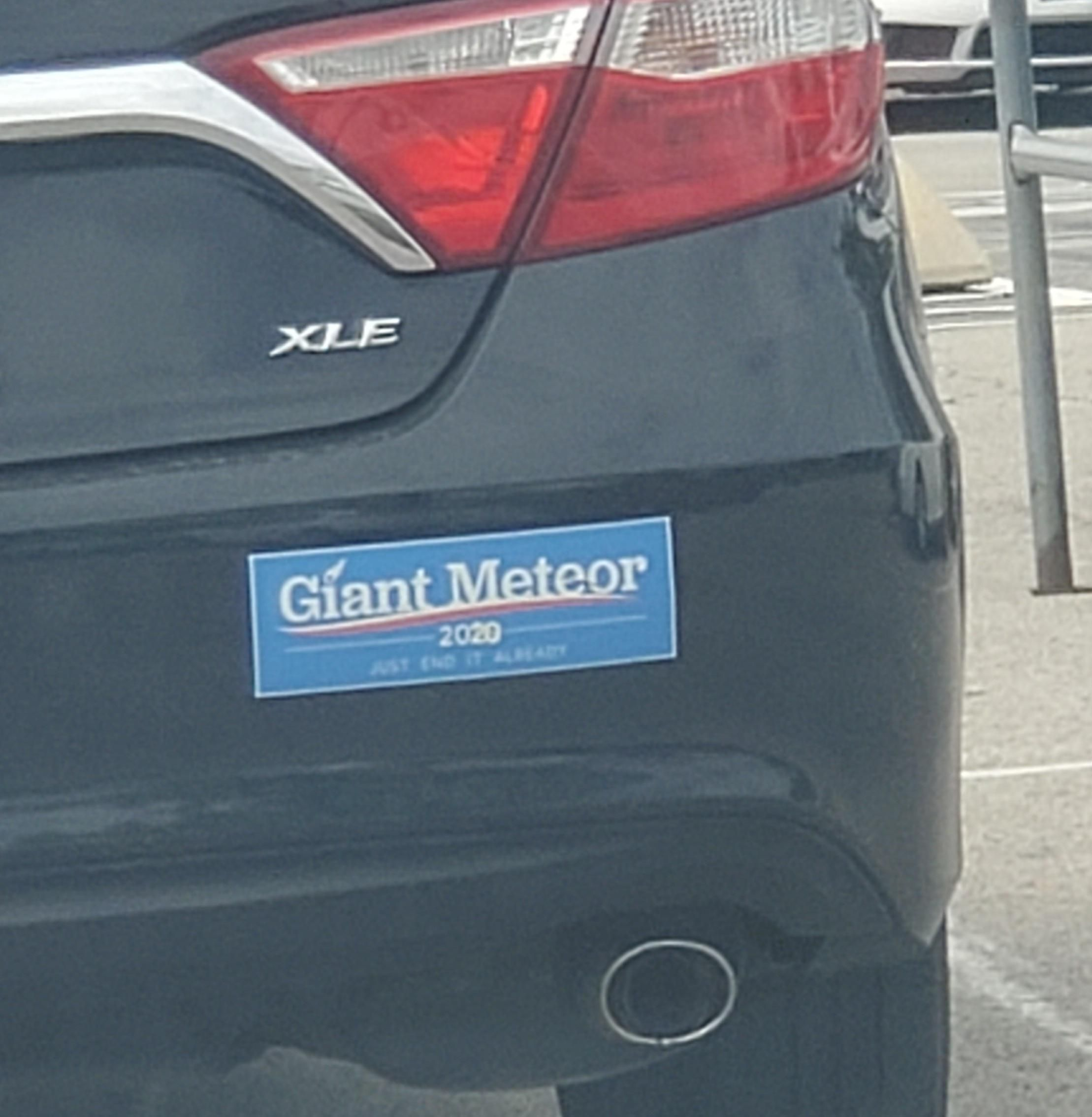 A candidate we can all get behind.