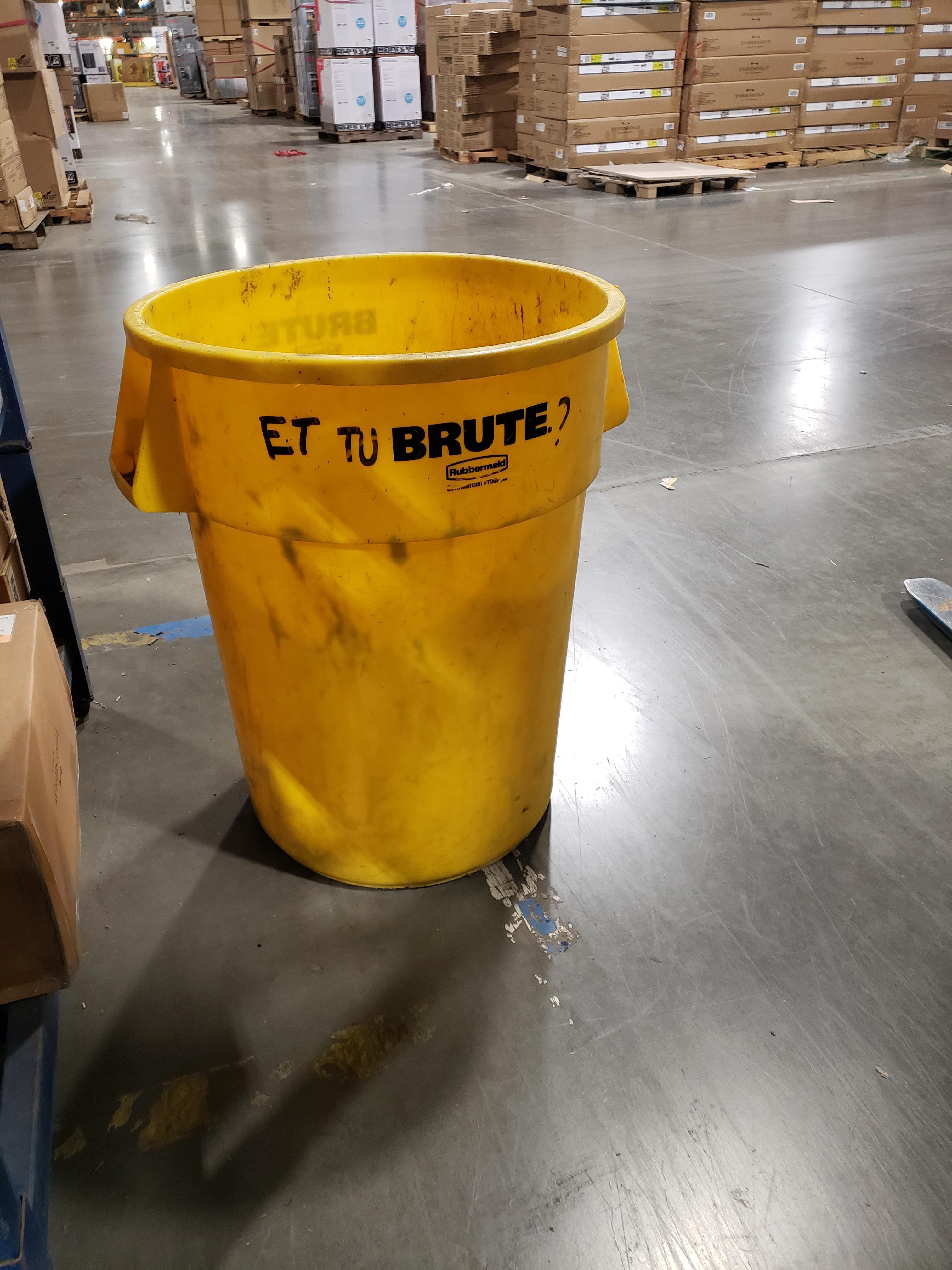 Someone at work has a good sense of humor lol.