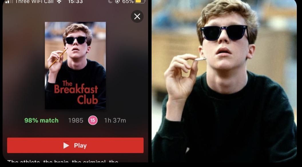 Netflix photoshopped a pencil into BRIANS hand instead of the Zoot. IM DYING