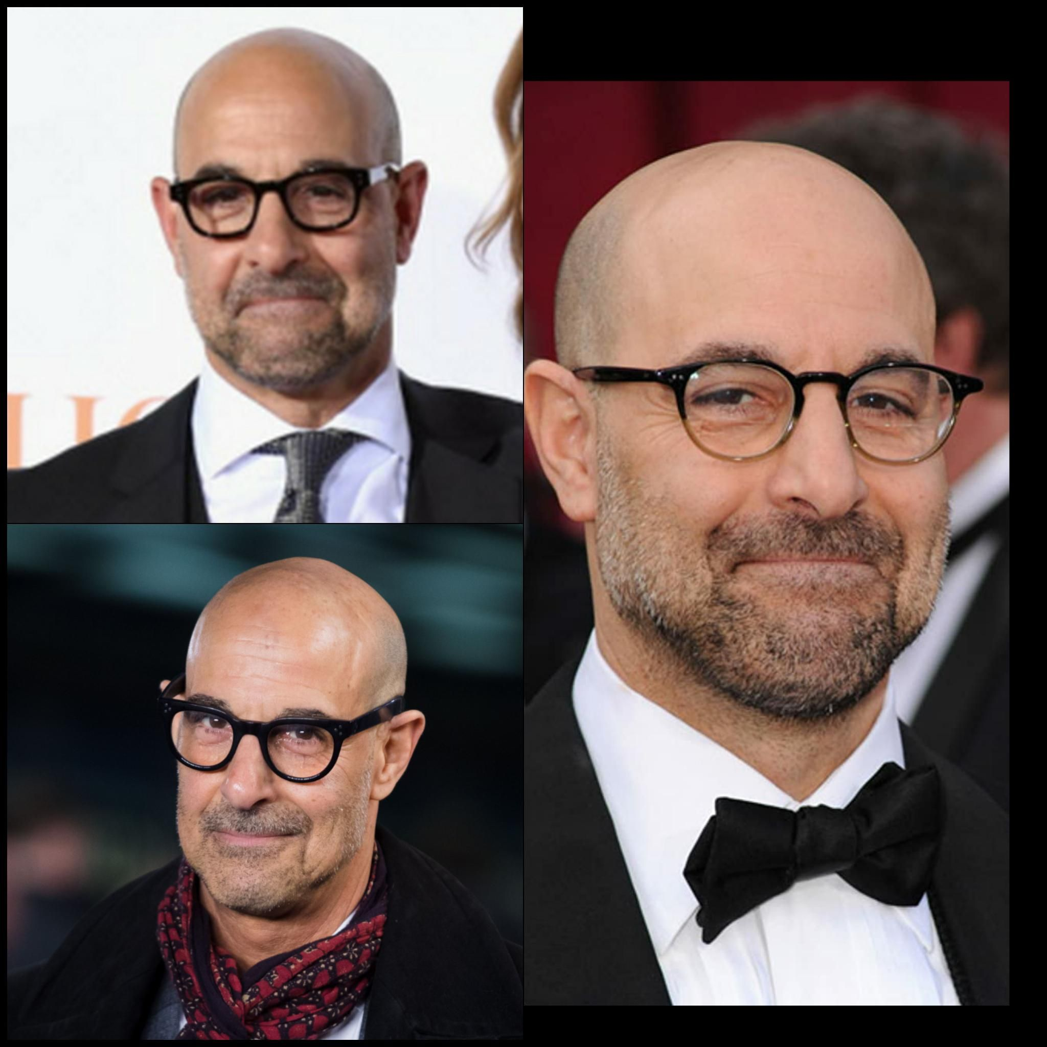 """Stanley Tucci's red carpet look is always """"i just got away with something"""""""