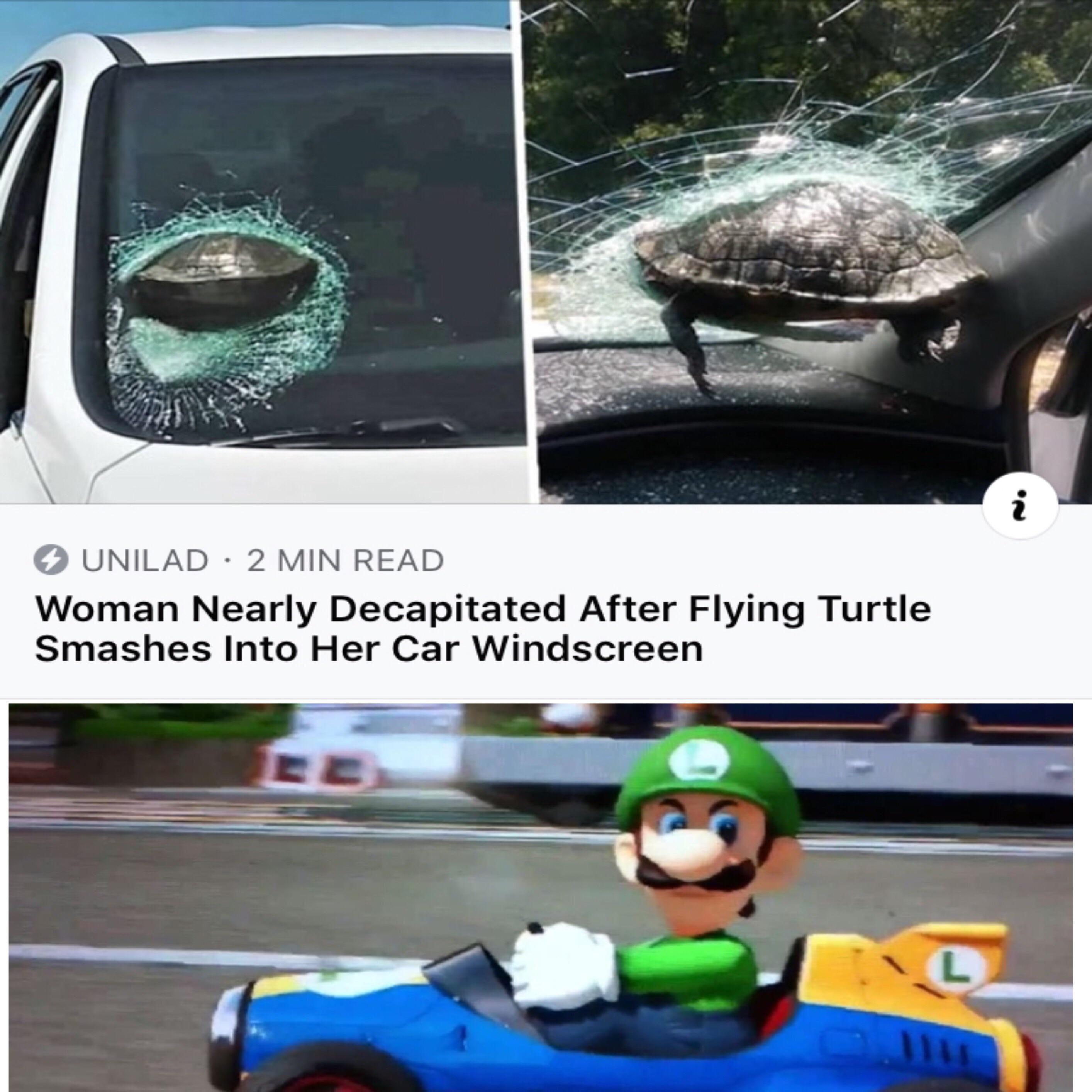 Don't piss off Luigi