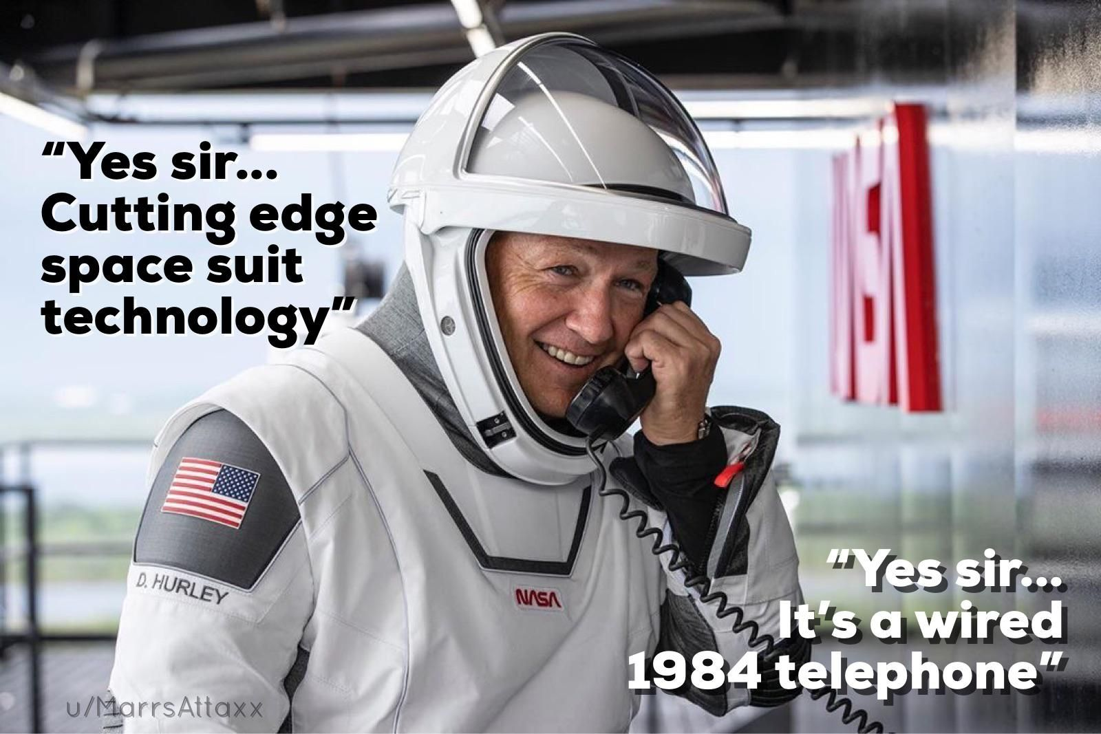 SpaceX launch at NASA facility...