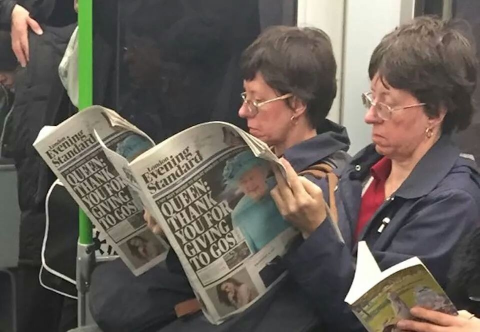 There must be a glitch in the matrix, or am I seeing double?