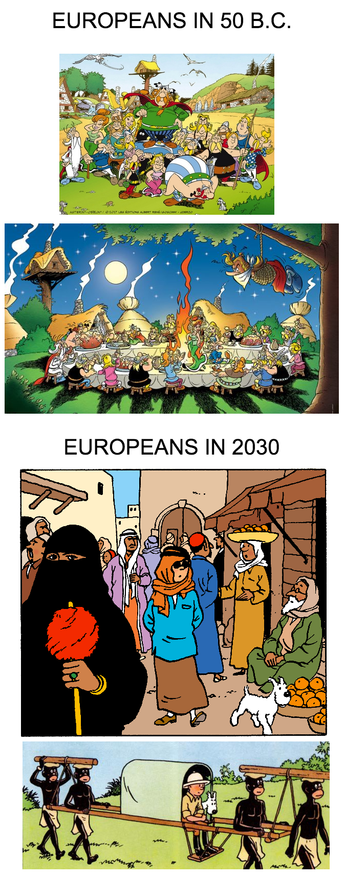 How about some Tintin posting along with the Asterix posting ?