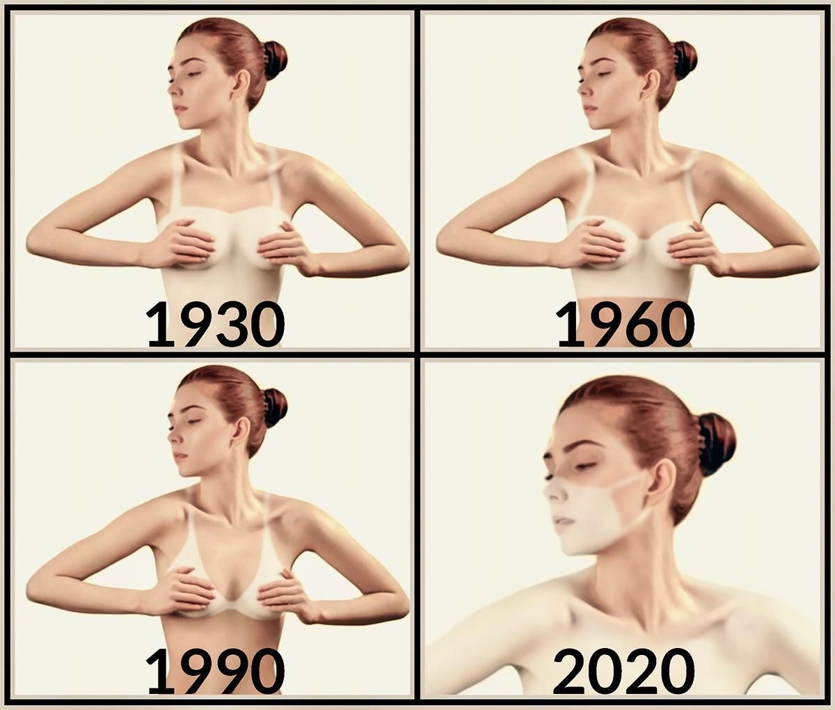 Tan-lines through the ages