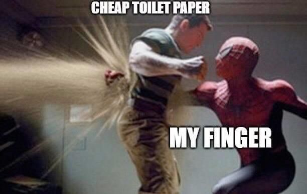 Finger vs paper