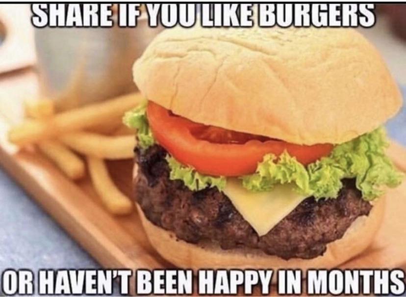 I like burgers