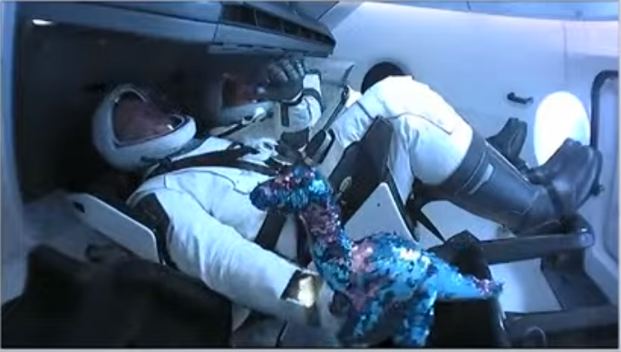 SpaceX zero G indicator is the most Scientific equipment i have ever seen.