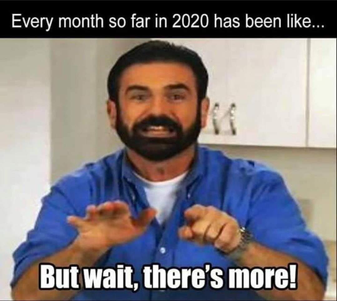 I wonder what next month holds