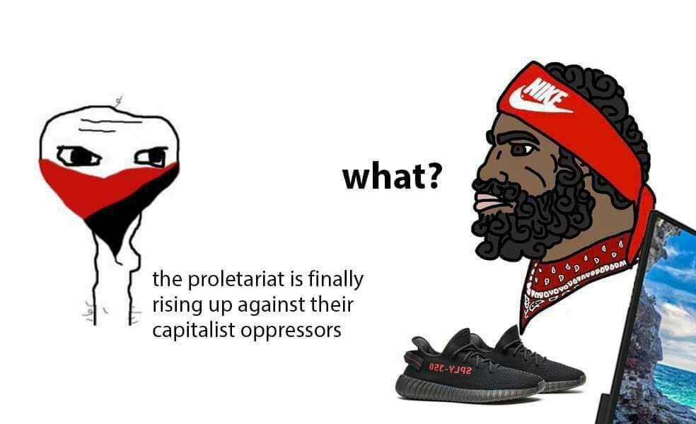 Lenin must be on sale again