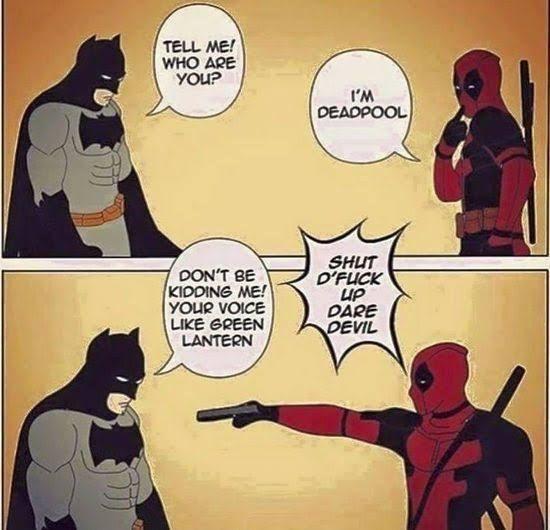 Deadpool or Green Lantern?
