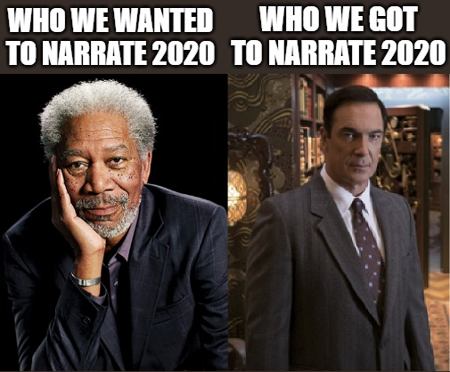 2020: A series of... well you know.