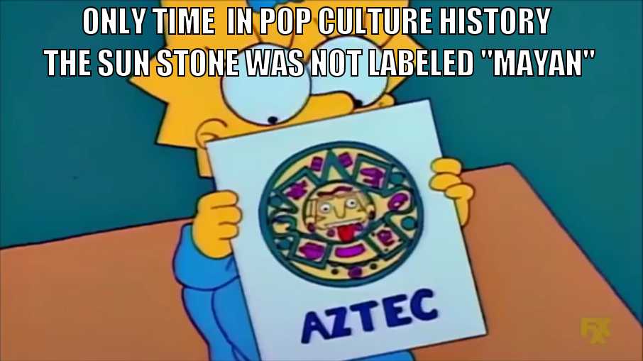 Simpsons did it first