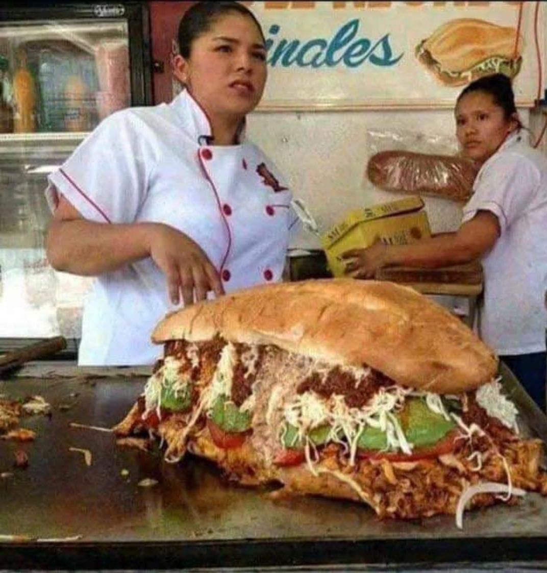 And a diet Coke please..