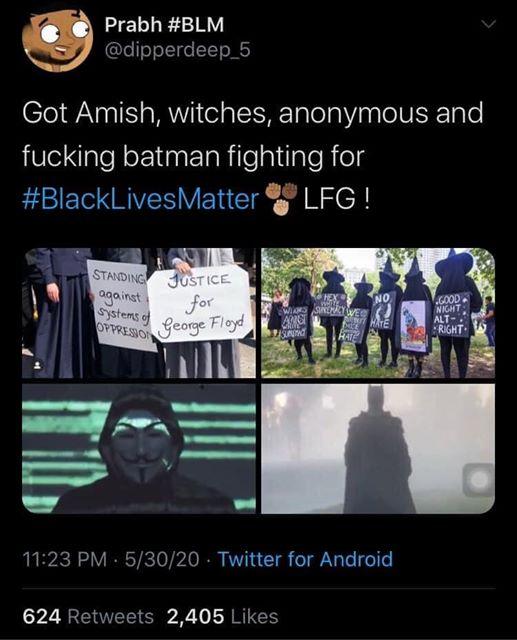 Batman has joined the battle