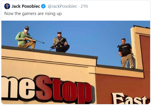 Watch out for rooftop gamers