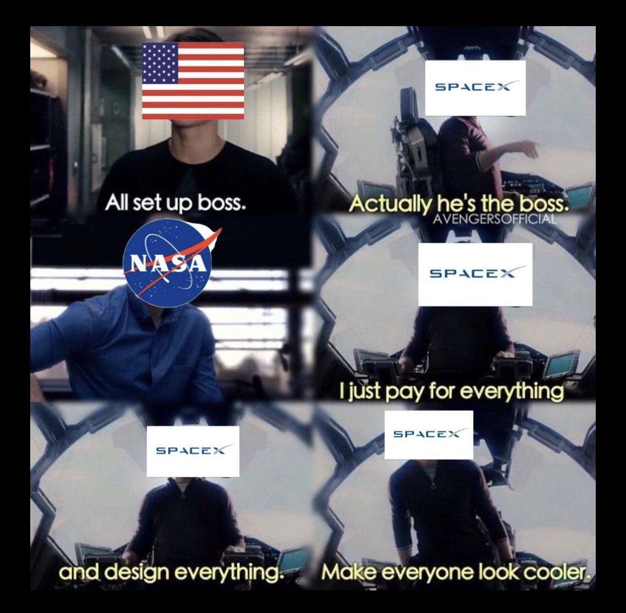 Astronauts assemble!