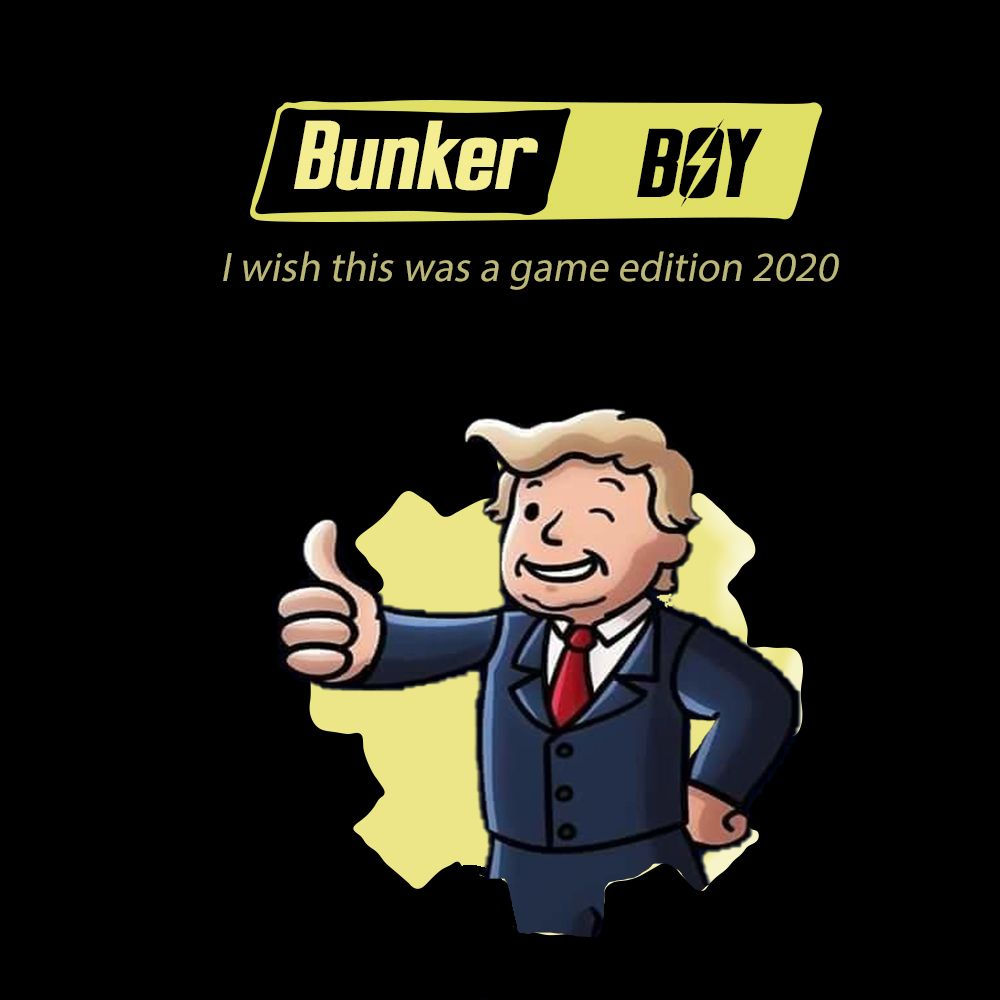 I am not great at Photoshop, but here he is Bunker Boy