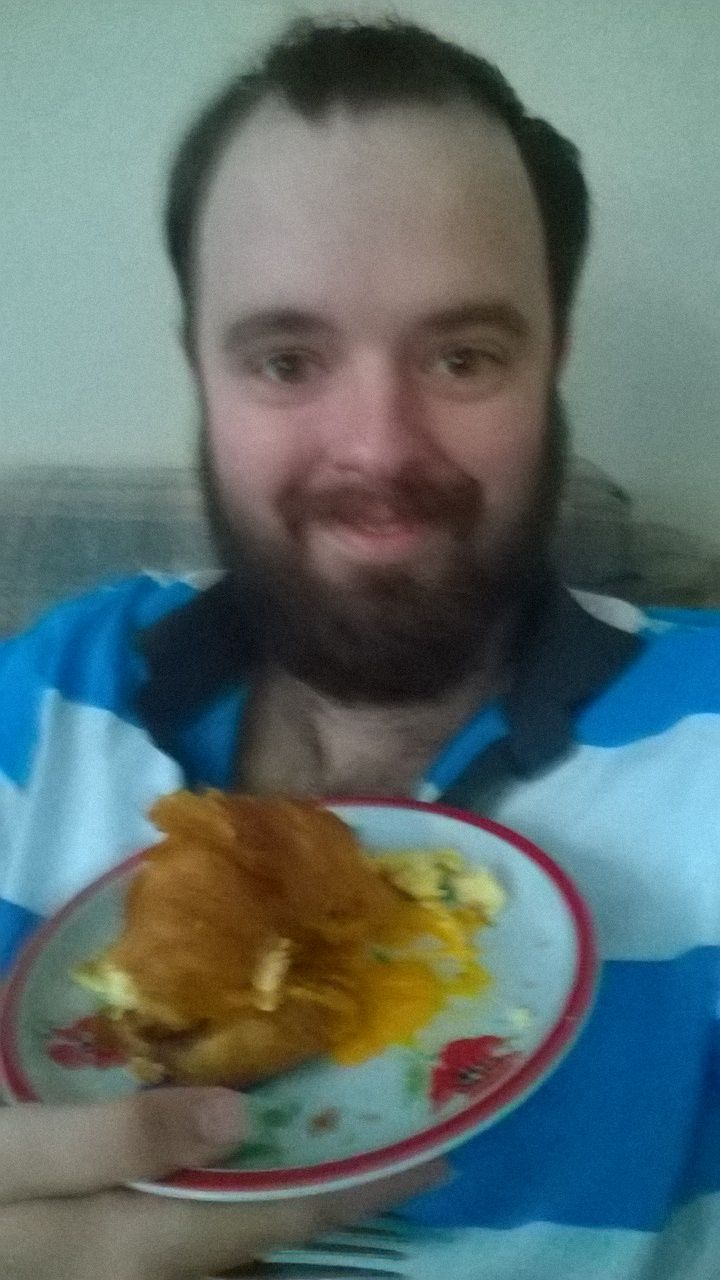 I met a strange slov, he made me nervous. He took me in and gave me breakfast