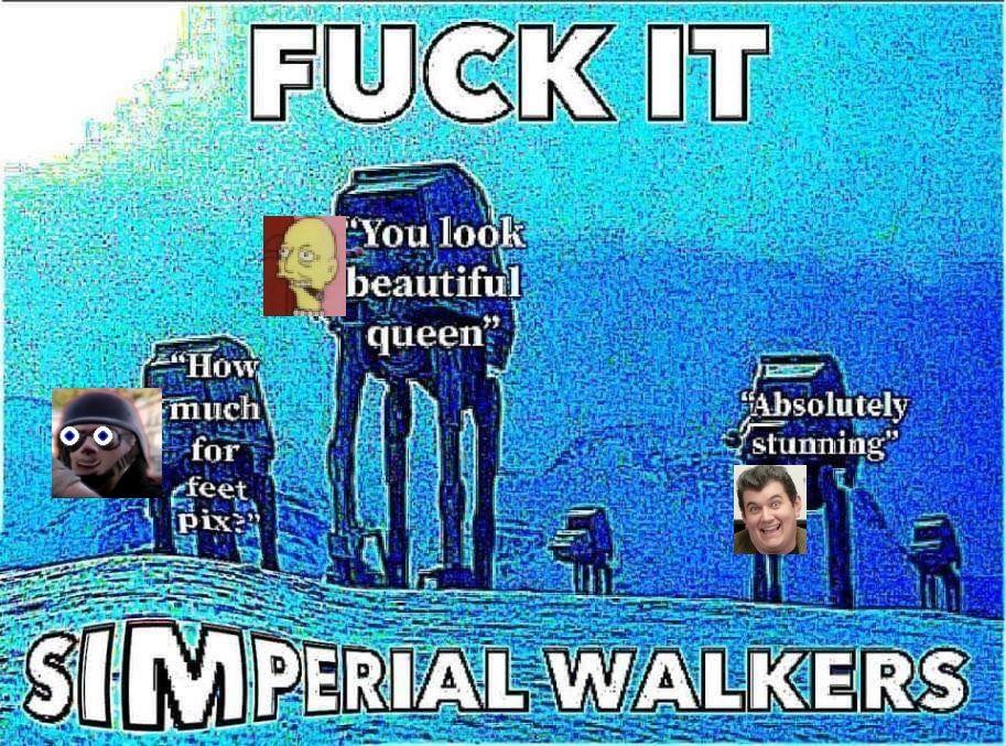 High effort meme - when Tom89 mentions his feet