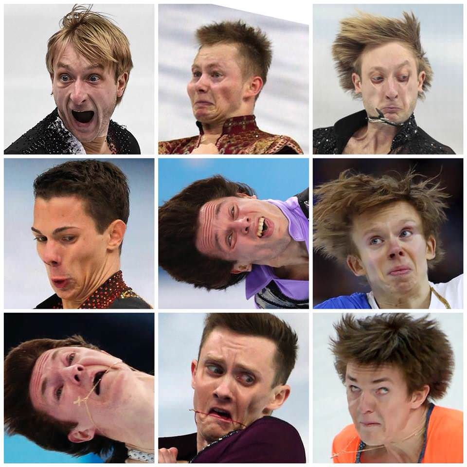 New hobby: collecting pictures of ice skaters photographed with HD cameras
