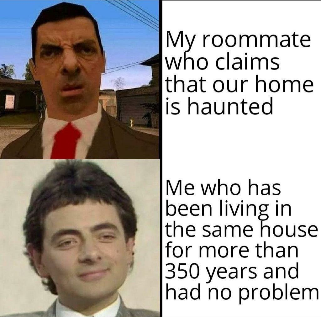 I haven't seen no ghost