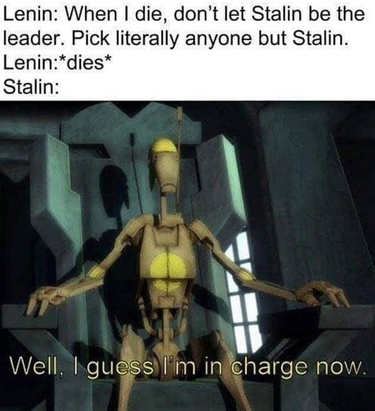 Stalin did nothing wrong.