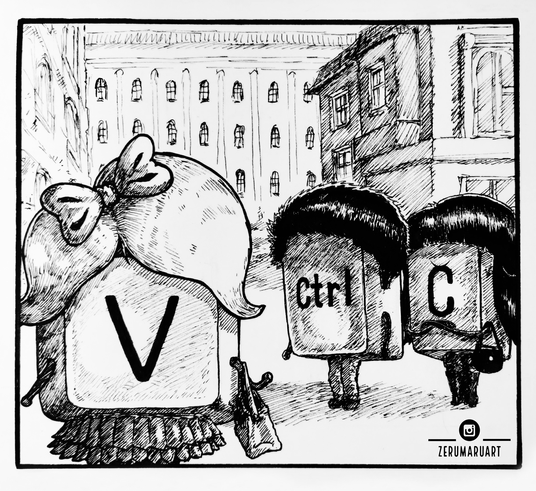Ctrl's love dilemma