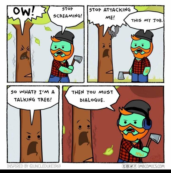 I wood like to know the inspiration behind the joke