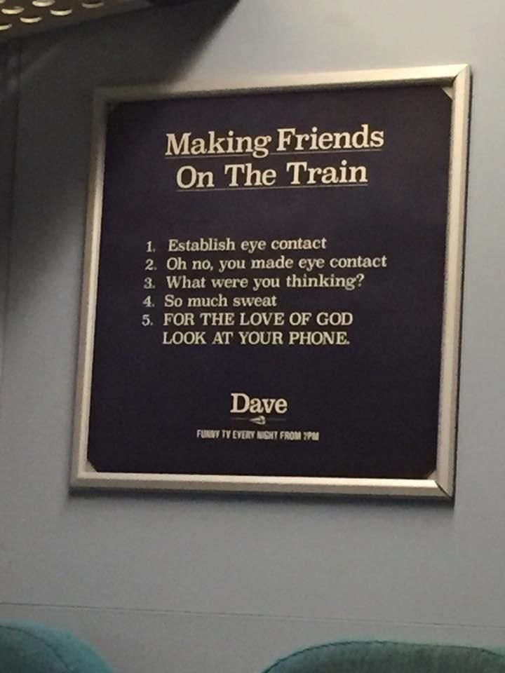 I found this on the London express train to Gatwick a couple years ago.