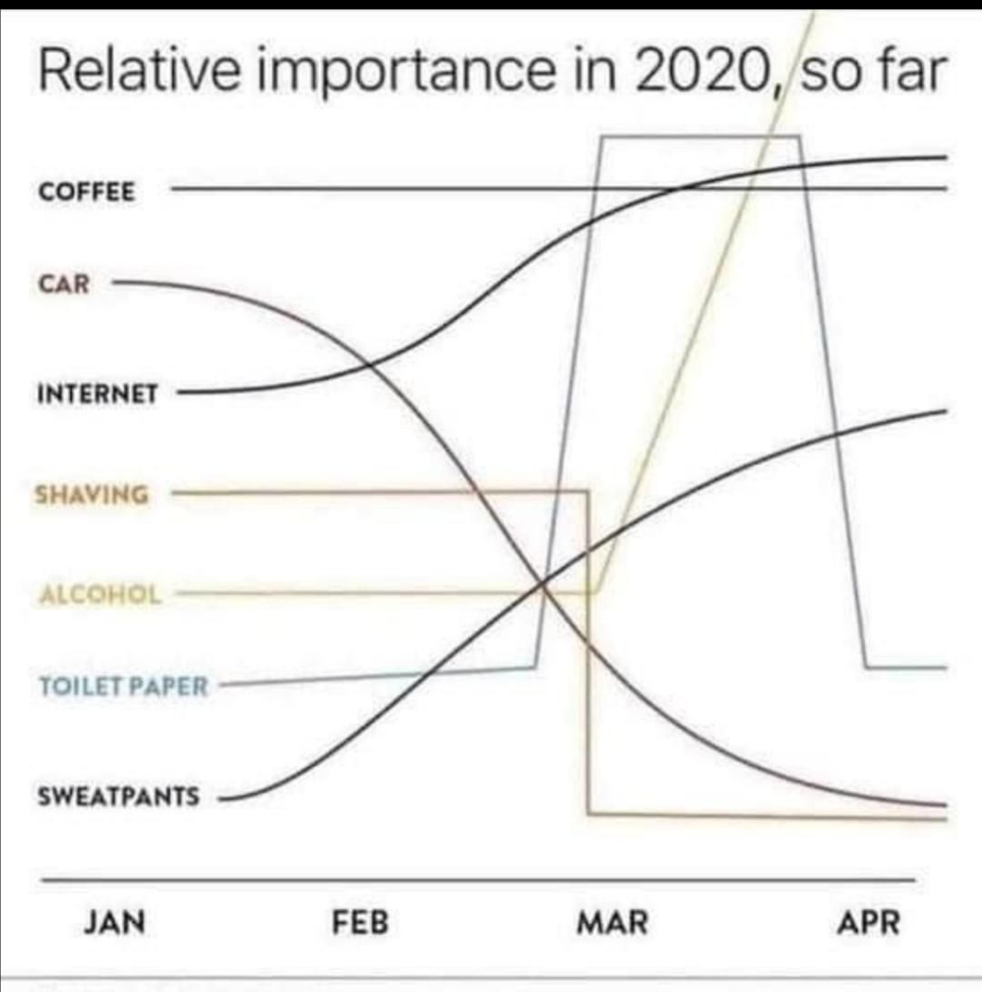 The most accurate graph I've seen during the pandemic