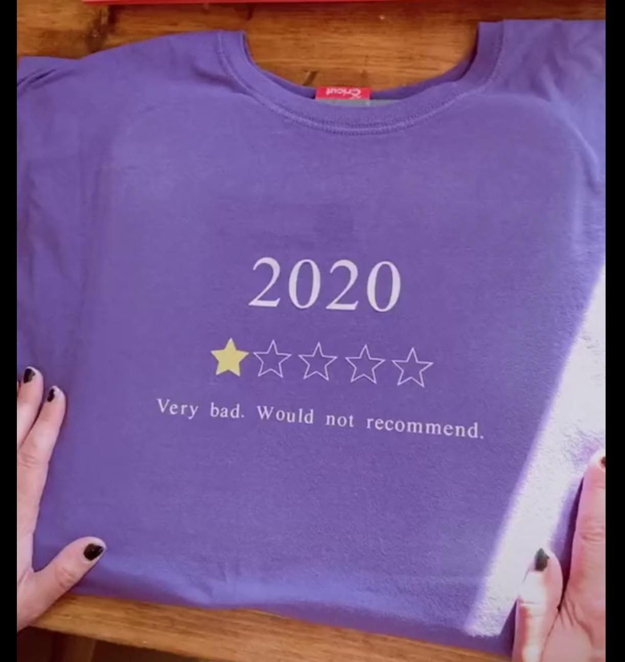 I do not recommend 2020 at all!