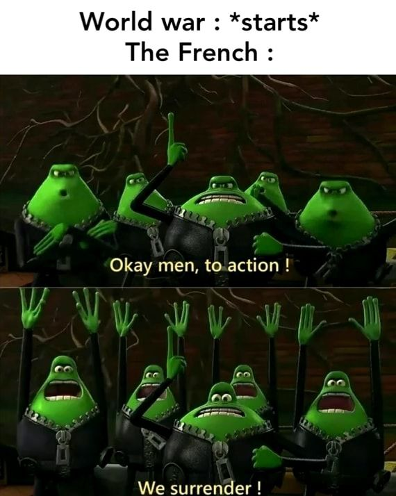 *** the french!