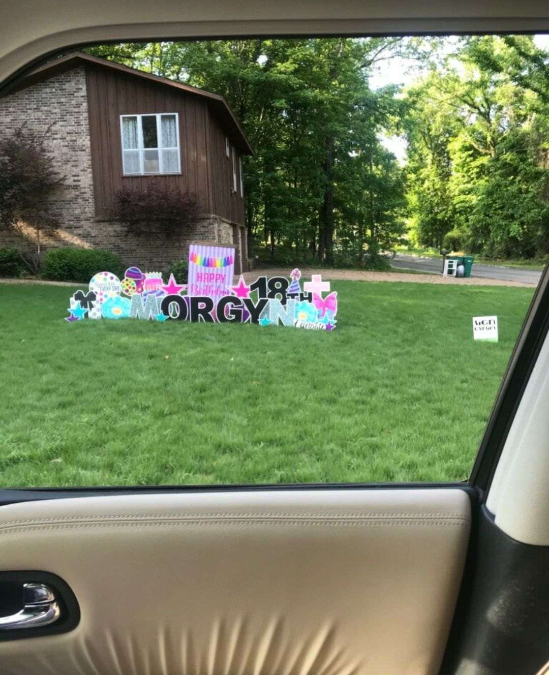 This was in front of a house in Arkansas. I am worried.