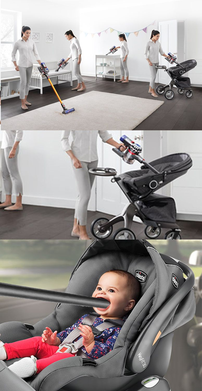 Baby crying a lot? Dyson has a solution.