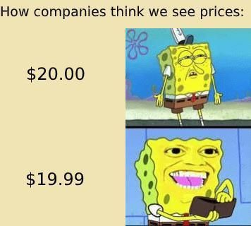 This IS how we see prices