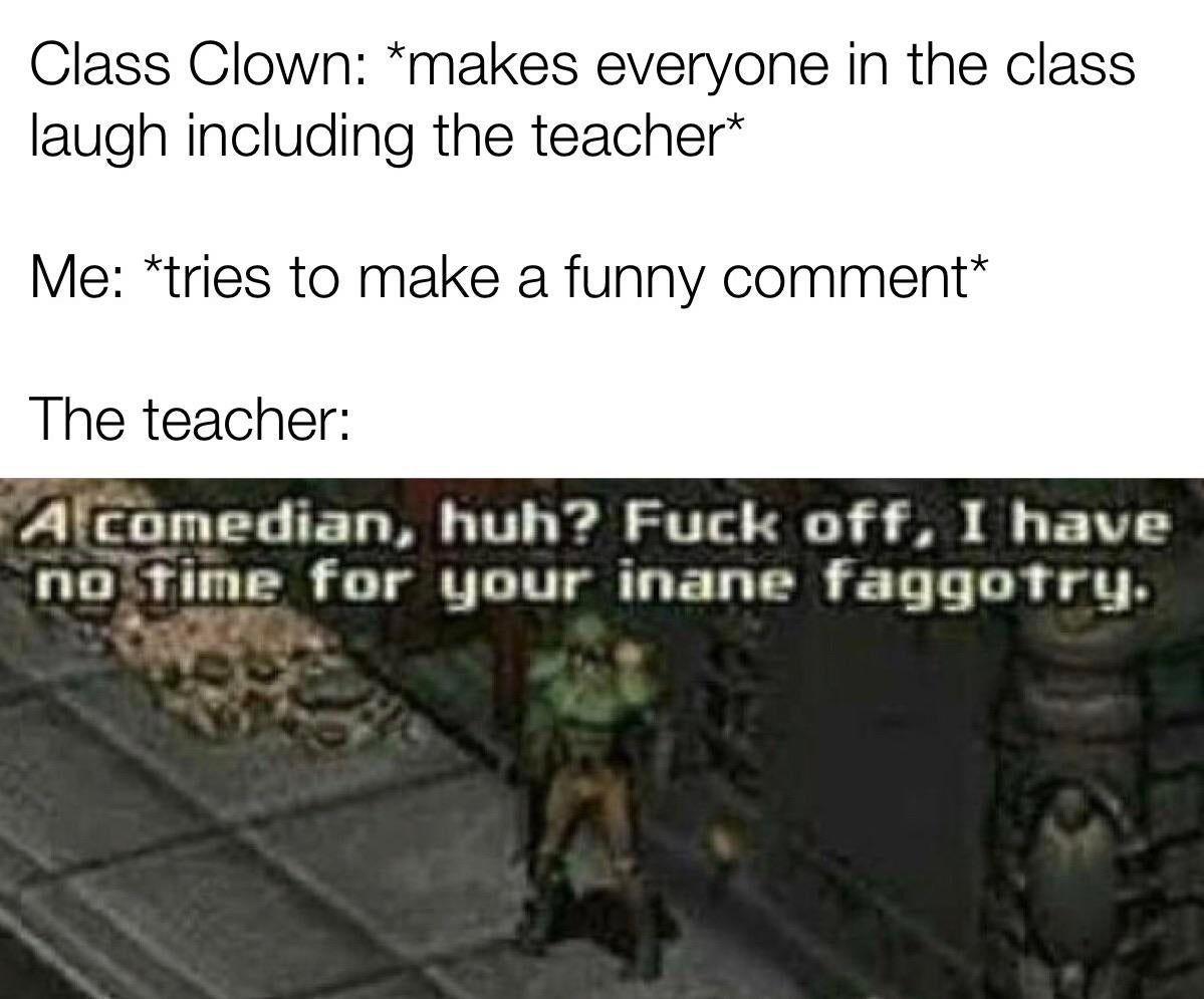 I was the quiet kid