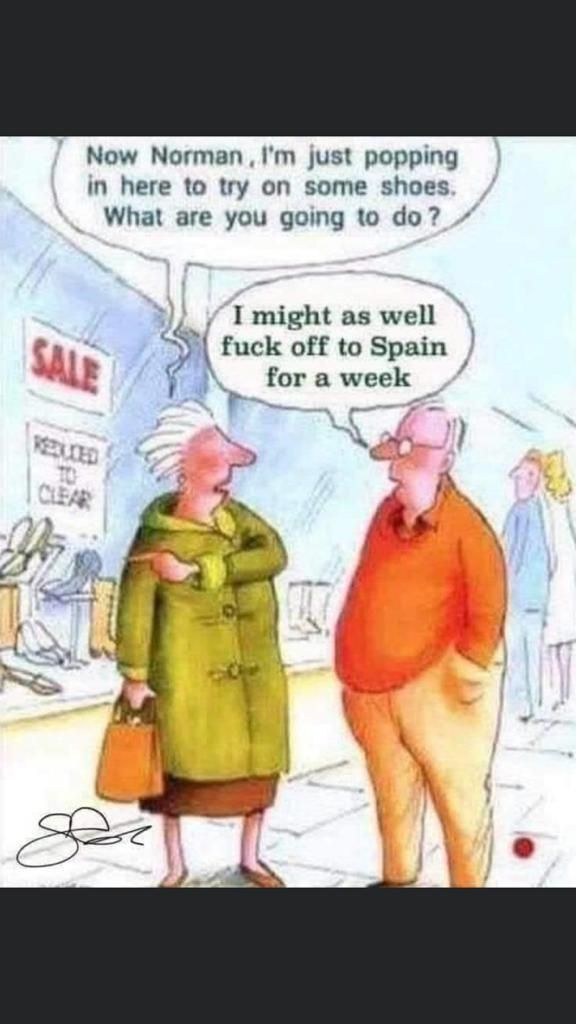 So my dad discovered an old British postcard group on Facebook and it's fair to say I'm not even mad with it as he sends me stuff like this everyday to make me laugh
