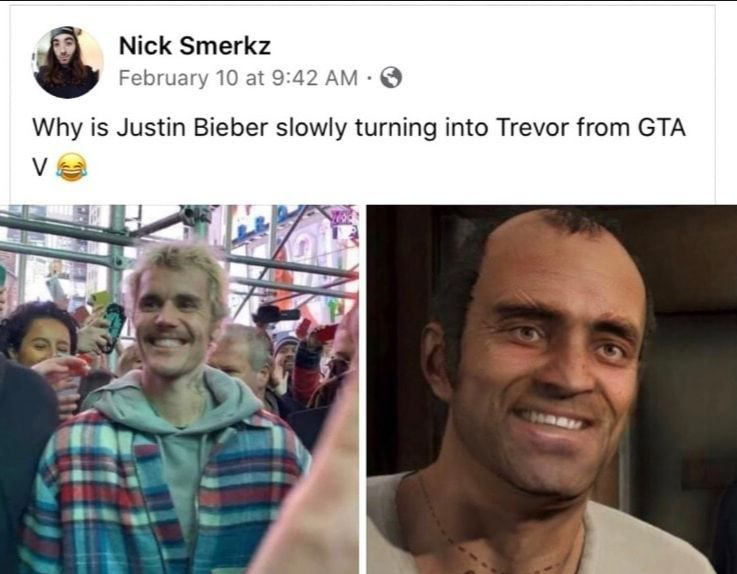Haha Justin Bieber bad!