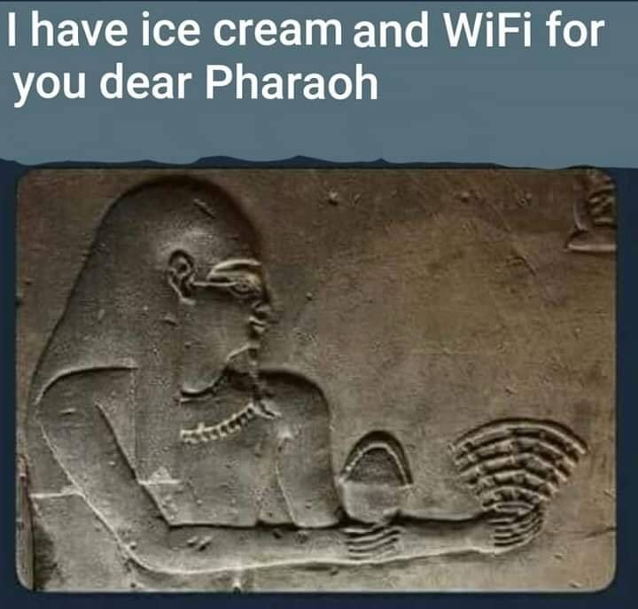 The Egyptians were way ahead of us